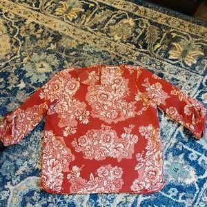 Pink Rose,LG.blouse,like New🌹
